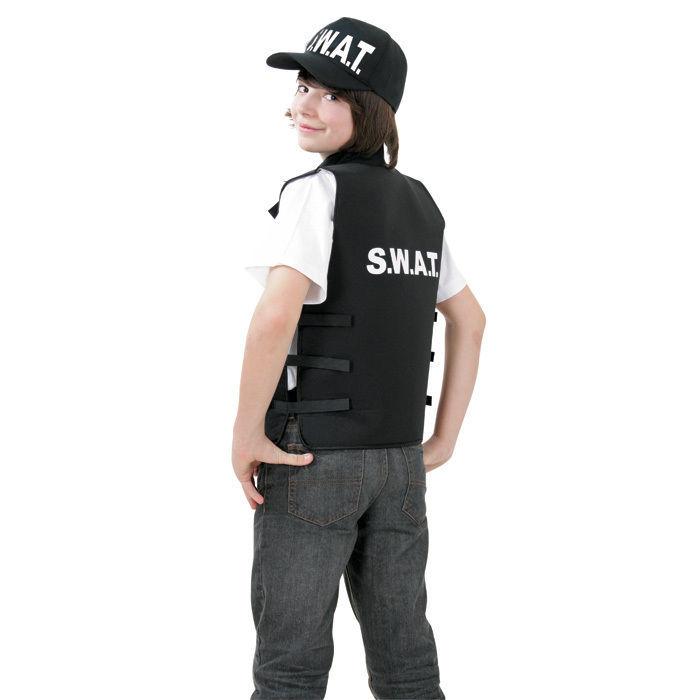 Sale Kinder Kostum Swat Weste Gr 152 Polizist Feuerwehr Co