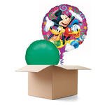 SALE Ballongrüsse Happy B.day Mickey, 2 Ballon