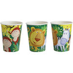 SALE Becher Jungle Party, 250 ml, 8 Stk.