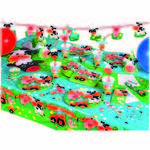 NEU Girlande Happy Birthday Farm Fun, 180 cm