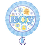 NEU Folienballon It´s a Boy Blue, 45cm