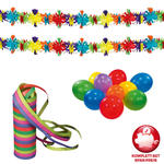 Karneval-Set Basic Fun, 13 teilig
