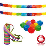 Karneval-Set Basic Joy, 13 teilig