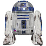Folienballon Star Wars R2D2 Airwalker 86x96cm