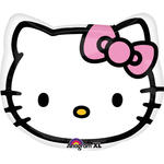 Folienballon Hello Kitty Head, ca. 45 cm