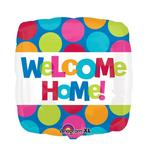 Folienballon Welcome Home, 45 cm