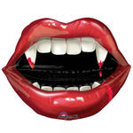 Folienballon Fangtastic Vampire Teeth 69x58 cm