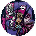 SALE Folienballon Monster High, 45 cm