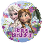 Folienballon Frozen Happy Birthday, ca. 45 cm