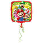 Folienballon SuperMario Family, 43cm