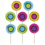 SALE Party Picker Papier-Blume, 13 cm, 24 Stk.