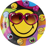 Teller Smiley Express Yourself, � 23 cm 8 Stk.