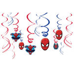 Girlande Ultimate Spiderman spiralf�rmig 12 St