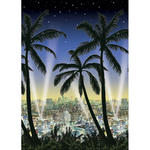 Wand-Deko Stadtblick Hollywood 1,2 x 12,2 m