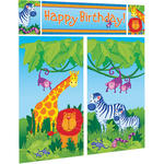 Wand-Deko Jungle Animals, 5-teilig