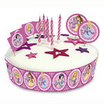 Kuchen Deko-Set Disney Princess 19 tlg.