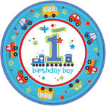 Teller All Aboard 1. Birthday Boy � 23cm 8 Stk