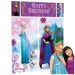 Wand-Deko Happy Birthday Frozen, 5-teilig