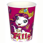 SALE Becher Filly Fairy, 8 Stück, 266 ml