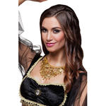 NEU Halskette Belly dance, goldfarbig