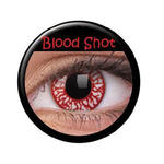 SALE Kontaktlinsen Blood Shot / Blut Spritzer