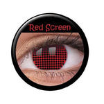 SALE Kontaktlinsen Red Screen