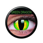 SALE Kontaktlinsen Green Dragon
