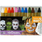 12 Halloween-Schminkstifte in Kunststoffbox