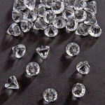 Streuteile Diamanten, 28gr., 12x12mm