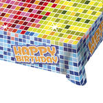 Tischdecke Birthday Blocks, 130x180 cm, 1 Stk.