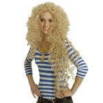 Perücke Monika, superlange Locken, blond