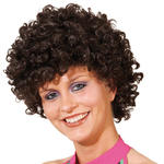 Afro-Per�cke Hair, kleine Locken, braun