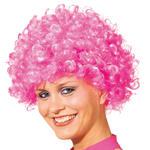 Afro-Per�cke Hair, kleine Locken, pink
