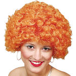 Afro-Perücke Hair, kleine Locken, orange