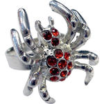 SALE Ring Red Spider
