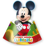 Party-H�tchen Playful Mickey, 6 St�ck