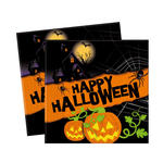 SALEServietten Halloween New, 20 Stk.