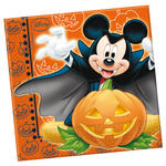 SALE Servietten Mickey Halloween, 33x33 cm 20 Stk.