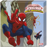 Servietten Spiderman & Team, 33x33cm, 20 St�ck
