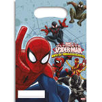 Partyt�te Spiderman & Team, 6 St�ck