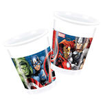 Becher The Avengers, 8 Stk., 200 ml