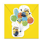 SALE Einladugskarten Minion Party, 6 Stück