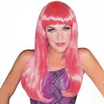SALE Per�cke Glamour Wig, pink