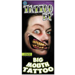 NEU Tinsley Transfers Big Mouth Tattoo 2 Faced