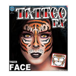 NEU Tinsley Transfers Tattoo Face-Kit Tiger