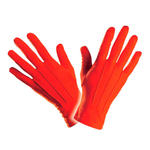 Handschuhe, rot, one size