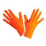 Handschuhe, orange, one size