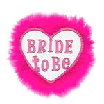 Brosche Bride to be, pink