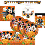 SALE Party-Set Mickey Halloween, 50 tlg.