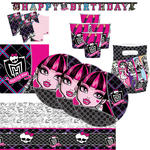 SALE Party-Set Monster High, 62 tlg.